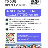 We Are Whitby Open Evening